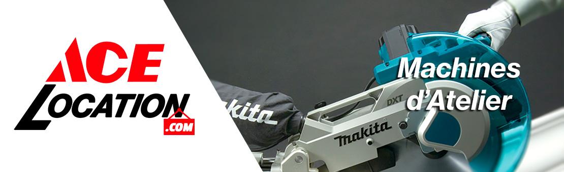 Image illustrant la sous-catégorie machines d'atelier